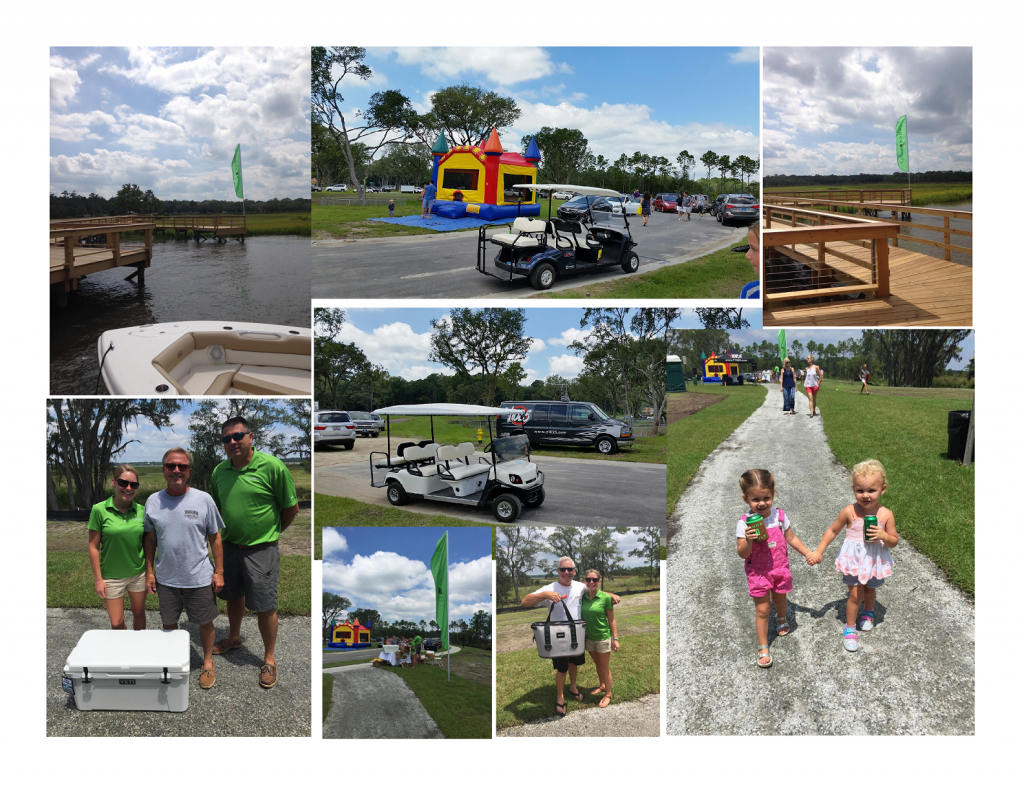 huge success for stonoview grand opening - collage of photos