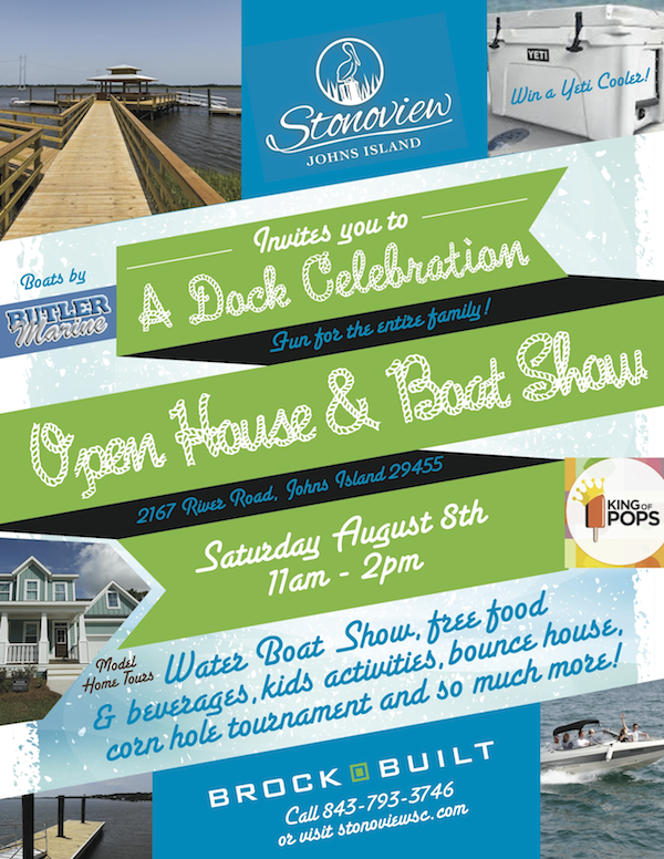 Stonoview Grand Opening flyer
