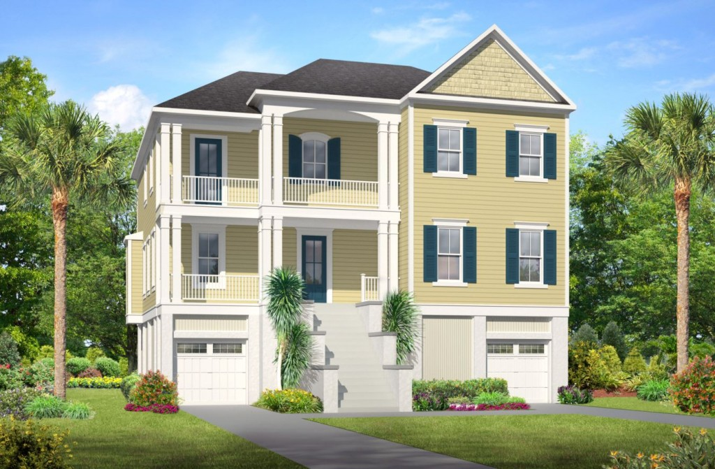huge success for drive under charleston home elevation preview